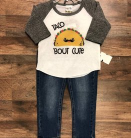 Taco 'Bout Cute Top & Jeans
