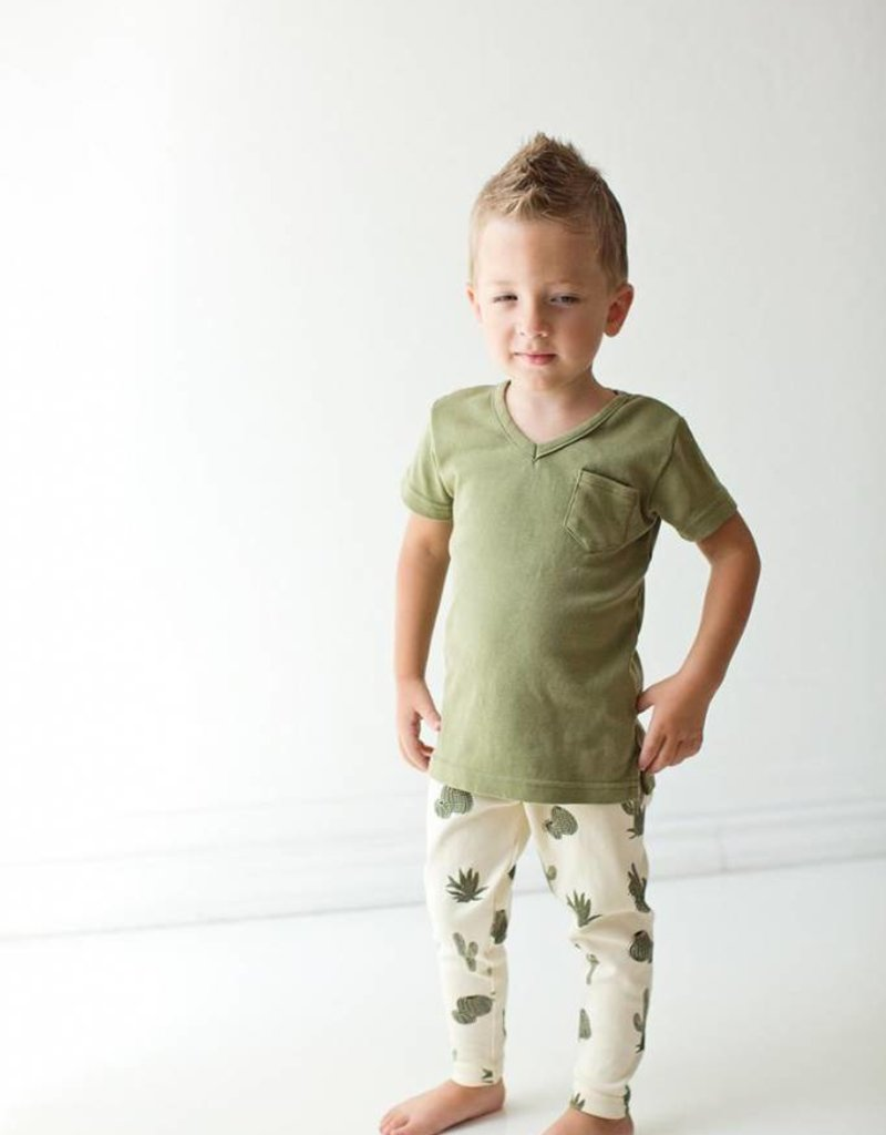 L'ovedbaby Organic Top & Leggings Set 4T