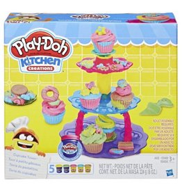 Play Doh Kitchen Creations- Cupcake Tower