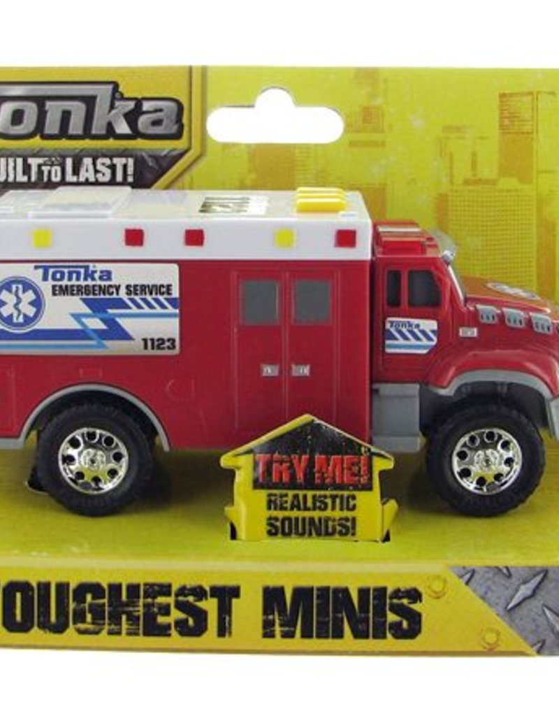 Hello Baby Tonka Toughest Minis