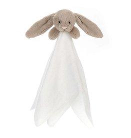 Jellycat Bashful Beige Bunny Muslin Soother
