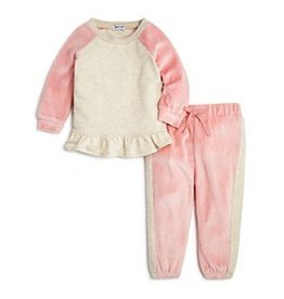 Delta Mellow Rose Velour Set