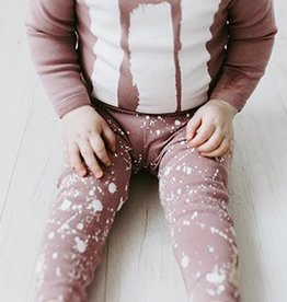 Lovedbaby Organic Little Artist Top and Pant Lounge Set- Lavender