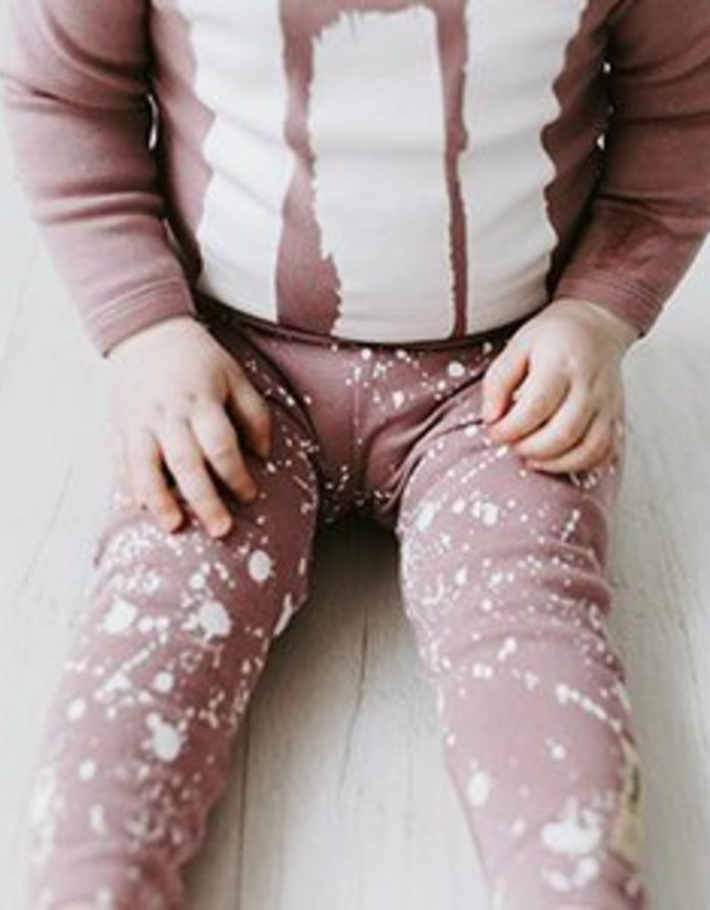 Lovedbaby Lovedbaby Organic Little Artist Top and Pant Lounge Set- Lavender