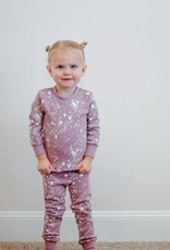Lovedbaby Lovedbaby Organic Paint the Town Long Sleeve PJ Set- Lavender
