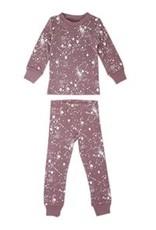 Lovedbaby Organic Paint the Town Long Sleeve PJ Set- Lavender