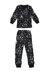 Lovedbaby Lovedbaby Organic Paint the Town Long Sleeve PJ Set- Black