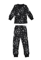 Lovedbaby Organic Paint the Town Long Sleeve PJ Set- Black