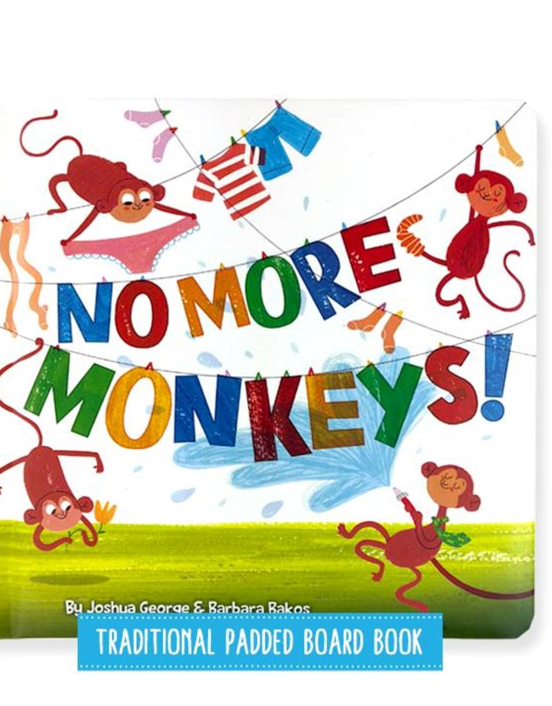 Top That No More Monkeys Hard Cover Book