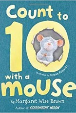 Parragon Count to Ten with a Mouse Hard Cover Book