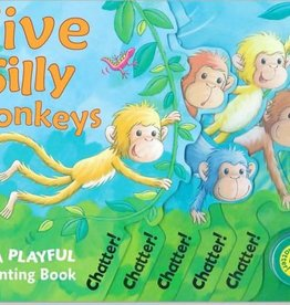 Cartwheel Books Five Silly Monkeys Sound Book