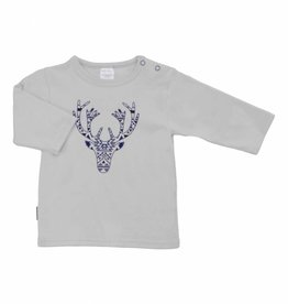 Kushies Light Grey Buck Tee
