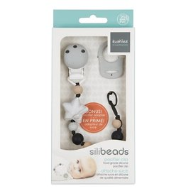 Kushies Silibeads Pacifier Clips