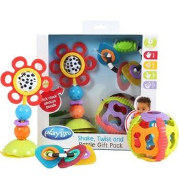 Playgro Shake, Twist and Rattle Gift Set