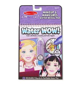 Melissa and Doug Water Wow! - Makeup & Manicures Water Reveal Pad