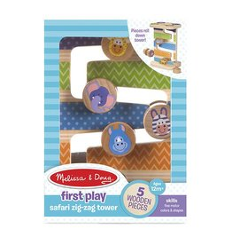 Melissa and Doug Safari Zig-Zag Tower