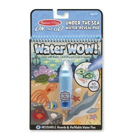 Melissa and Doug Water Wow! - Under The Sea Water Reveal Pad