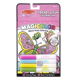 Melissa and Doug Friends & Fun No-Mess Coloring Pad