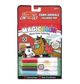 Melissa and Doug Farm Animals No-Mess Coloring Pad