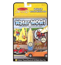 Melissa and Doug Water Wow!- Vehicles Water Reveal Pad