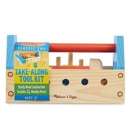 Melissa and Doug Take-Along Wooden Tool Kit