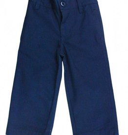RuffleButts/RuggedButts Rufflebutts Navy Chino Pants