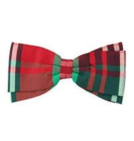 RuffleButts Kennedy Plaid Hair Bow