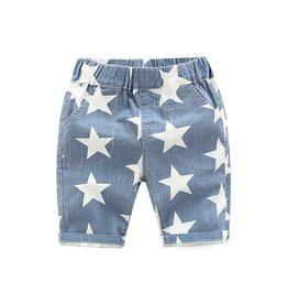 Baby Kiss Denim Star Shorts