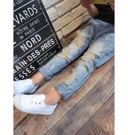 Baby Kiss Boy or Girl Casual Distressed Jean