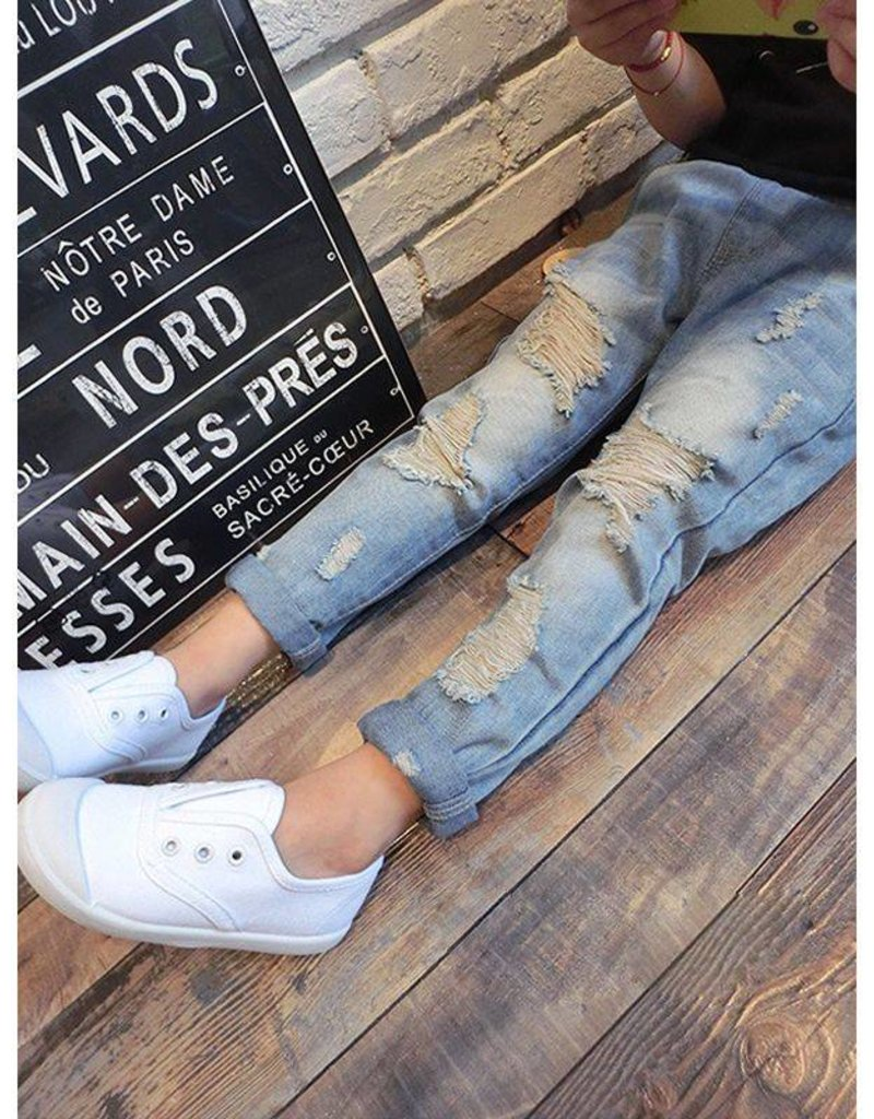 4d4efe7e7f5 Baby Kiss Boy or Girl Casual Distressed Jean ...