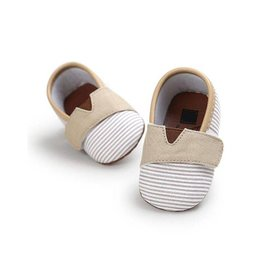 Baby Kiss Beige Velco Canvas Shoes