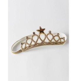 Baby Kiss Gold Crown Headband