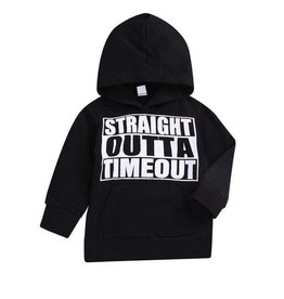 Baby Kiss Straight Outta Timeout Hoodie