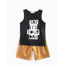 Baby Kiss It's Your Day Tank & Shorts Set