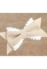 Baby Kiss 2-Pack Delicate Bow- Beige