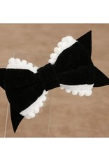 Baby Kiss 2-Pack Delicate Bow- Black