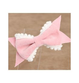 Baby Kiss 2-Pack Delicate Bow- Pink