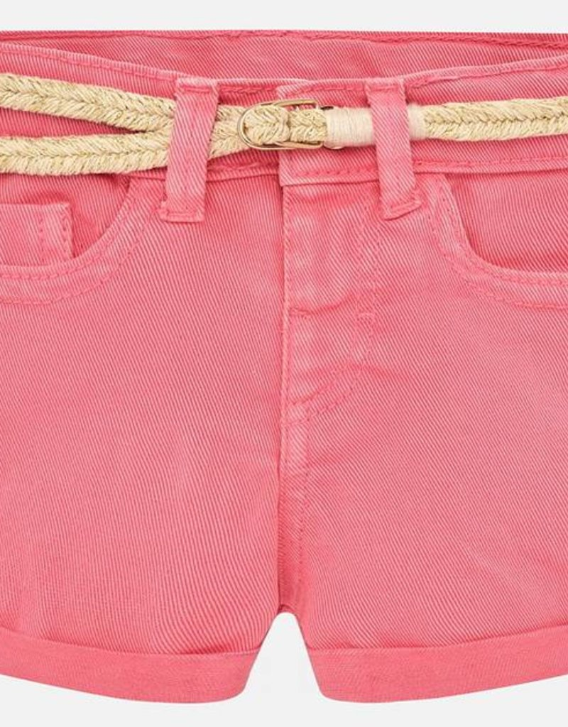 Mayoral Mayoral Pink Basic Twill Shorts