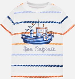 Mayoral Mayoral Sea Captain Striped Tee