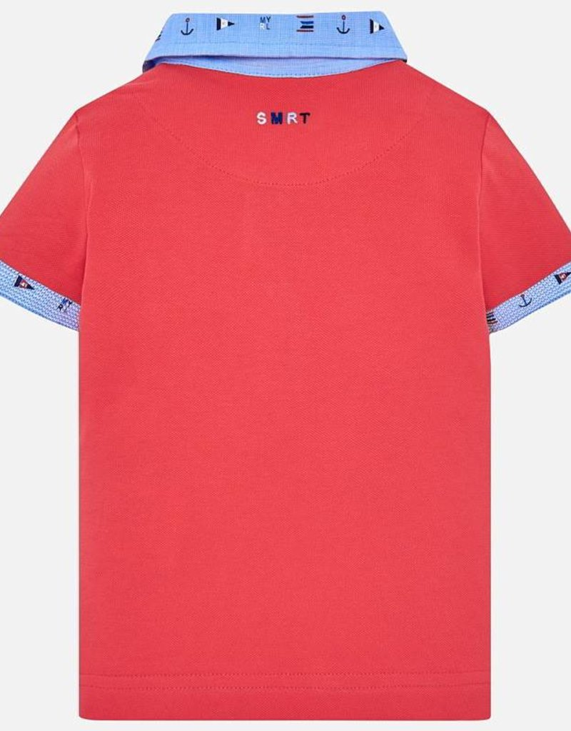 Mayoral Mayoral Nautical Polo Crab Red
