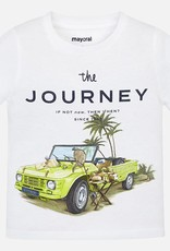 "Mayoral Mayoral ""The Journey"" White Tee"