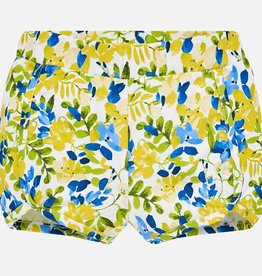 Mayoral Mayoral Floral Yellow and Navy Shorts