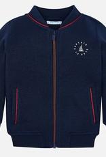 Mayoral Mayoral Nautical Zip-Up Sweater