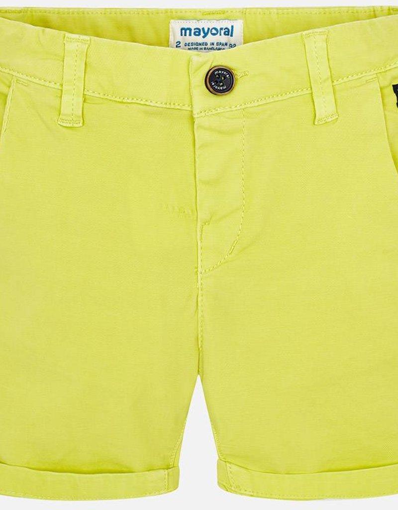 Mayoral Mayoral Lemon Chino Shorts