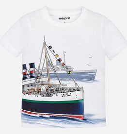 Mayoral Mayoral Sailboat Tee