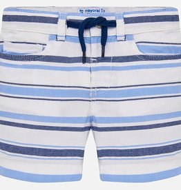 Mayoral Mayoral  Striped Blues Bermuda Shorts