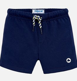 Mayoral Mayoral Navy Knit Shorts