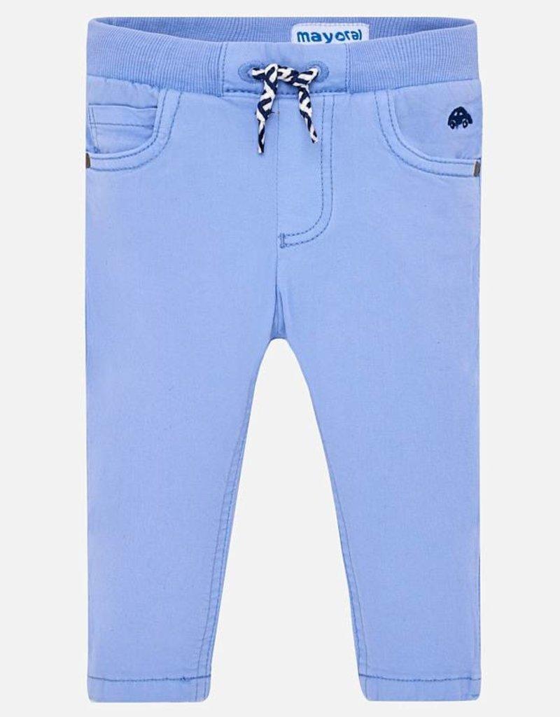 Mayoral Mayoral Baby Boy Light Blue Pants