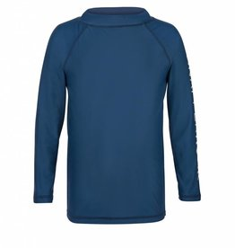 Snapper Rock Denim Blue LS Rash Top
