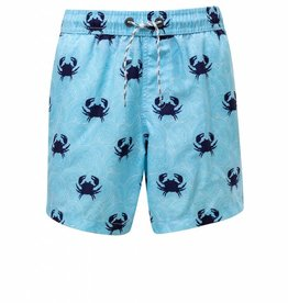 Snapper Rock Blue Crab Swim Trunks